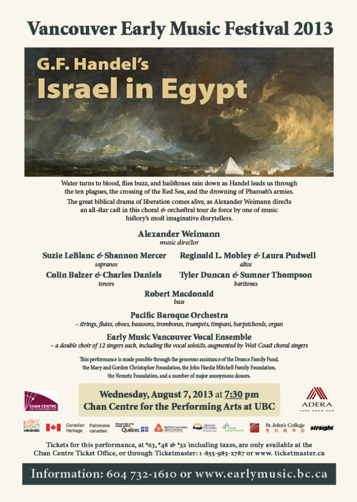 Israel in Egypt flyer in colour for web